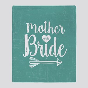 Mother Bride Throw Blanket