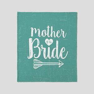 Mother Bride Throw Blanket