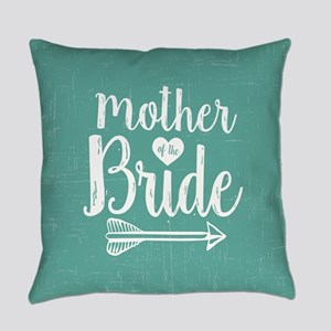 Mother Bride Everyday Pillow