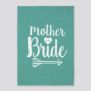 Mother Bride 5'x7'Area Rug