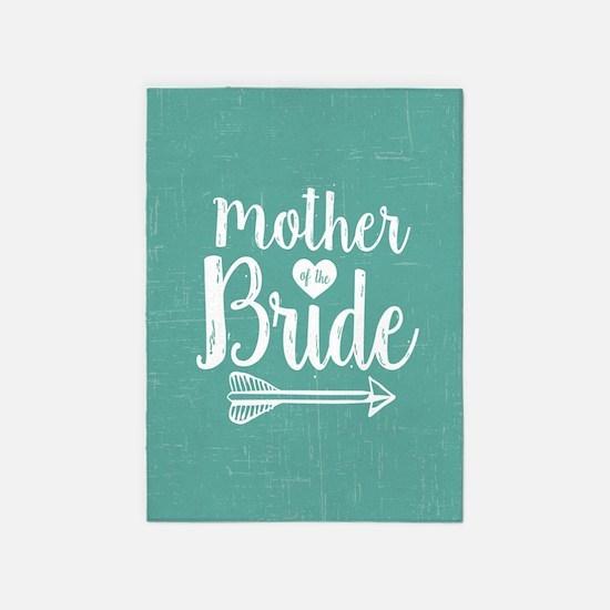 Mother Bride 5'x7'Area Rug