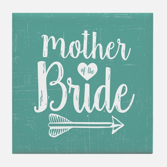 Mother Bride Tile Coaster