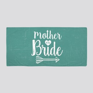 Mother Bride Beach Towel