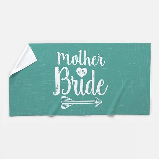 Mother Bride Beach Towel