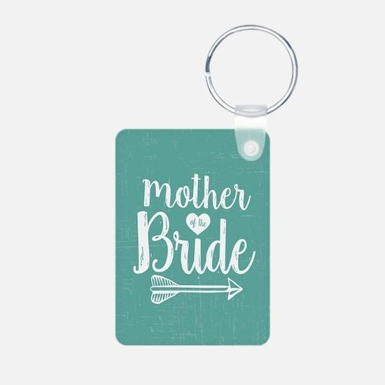 Mother Bride Aluminum Photo Keychain