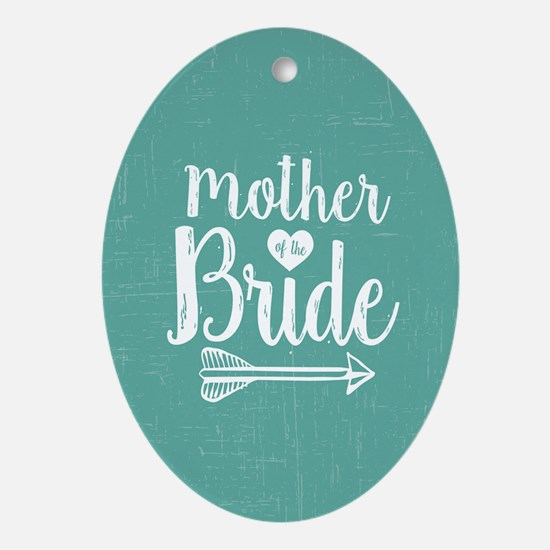 Mother Bride Oval Ornament