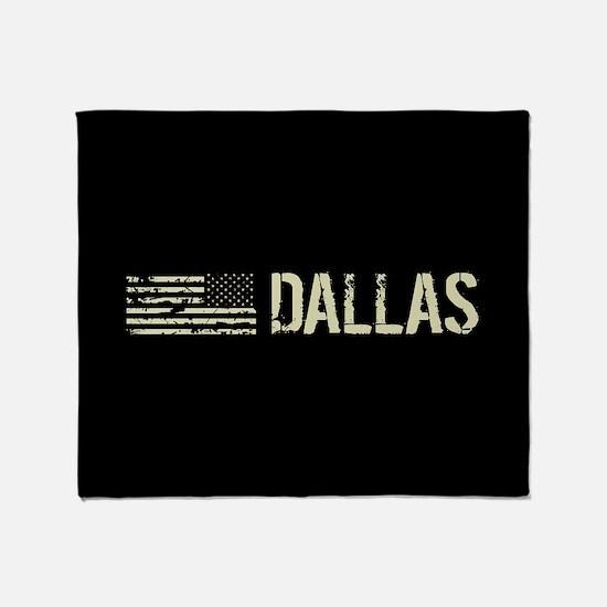 Black Flag: Dallas Throw Blanket