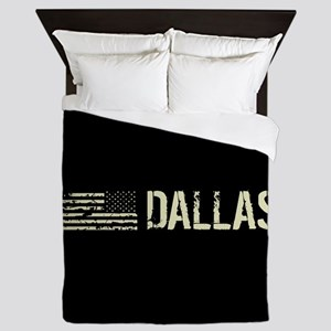 Black Flag: Dallas Queen Duvet