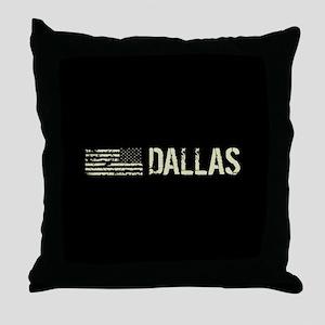 Black Flag: Dallas Throw Pillow