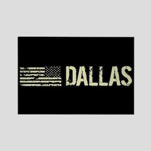Black Flag: Dallas Rectangle Magnet