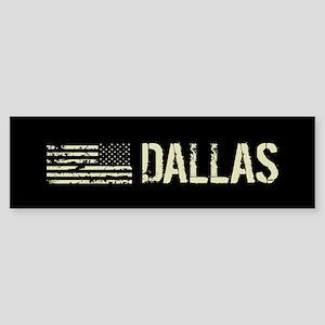 Black Flag: Dallas Sticker (Bumper)
