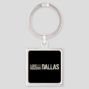 Black Flag: Dallas Square Keychain