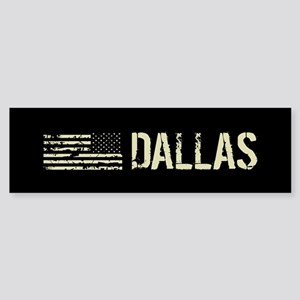 Black Flag: Dallas Sticker (Bumper)