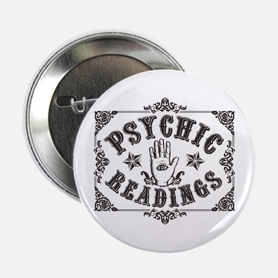 """Psychic Readings 2.25"""" Button"""