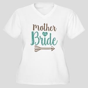 Mother Bride Women's Plus Size V-Neck T-Shirt