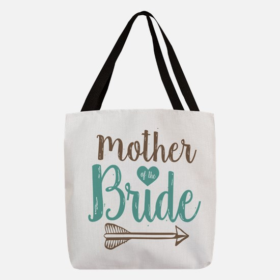 Mother Bride Polyester Tote Bag