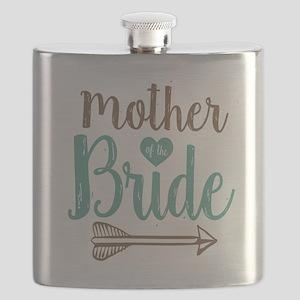 Mother Bride Flask