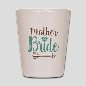 Mother Bride Shot Glass