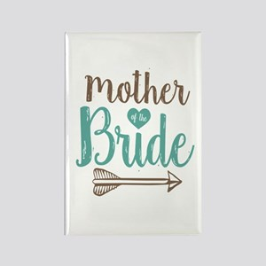 Mother Bride Rectangle Magnet