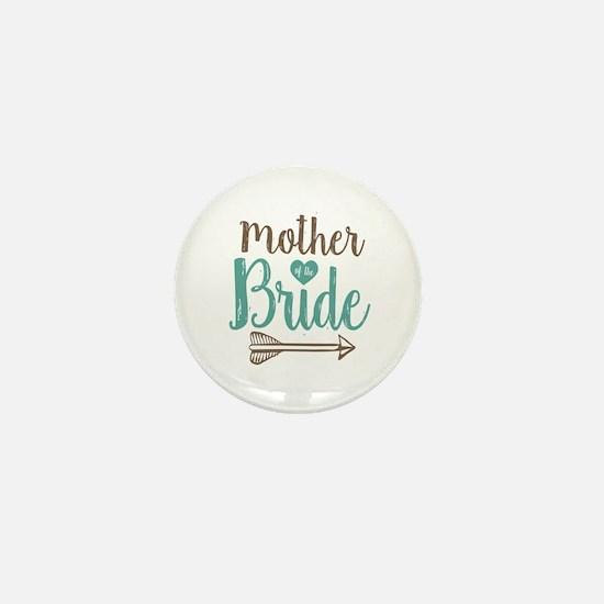 Mother Bride Mini Button