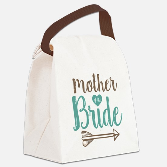 Mother Bride Canvas Lunch Bag