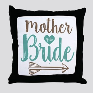Mother Bride Throw Pillow