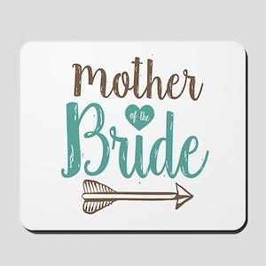 Mother Bride Mousepad