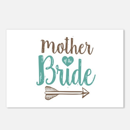 Mother Bride Postcards (Package of 8)