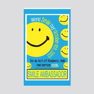 World Smile Day 2013 Poster Sticker
