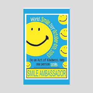 World Smile Day 2013 Poster Sticker