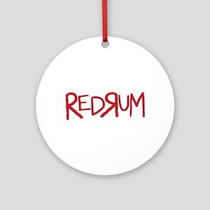 REDRUM Ornament (Round)