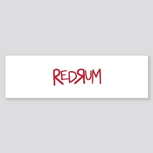 REDRUM Bumper Sticker