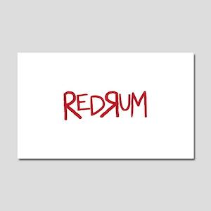 REDRUM Car Magnet 20 x 12