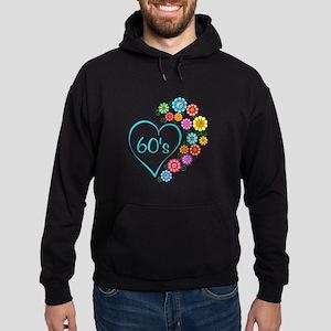 60s Heart and Flowers Sweatshirt