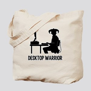 Destop Warrior Tote Bag