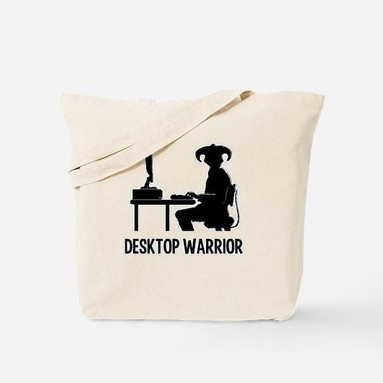 Destop Warrior Tote Bag