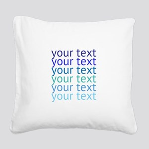 design Square Canvas Pillow