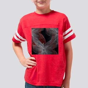 Lost In Flowers Shower Curtai Youth Football Shirt