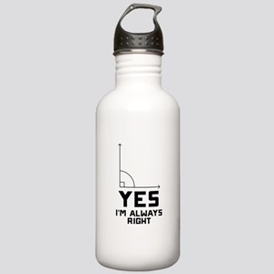 Yes I'm Always Right Stainless Water Bottle 1.0L