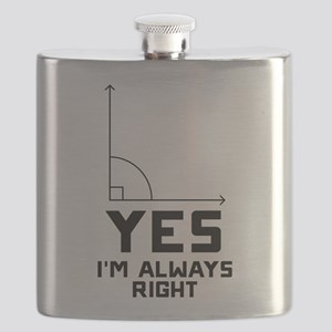 Yes I'm Always Right Flask