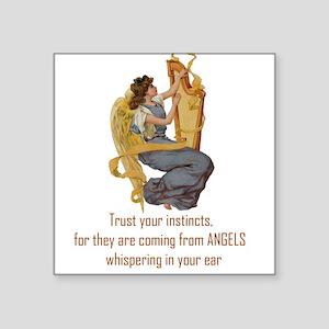 Angels Whispering Sticker