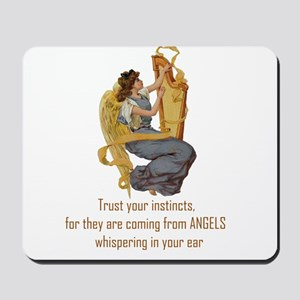 Angels Whispering Mousepad