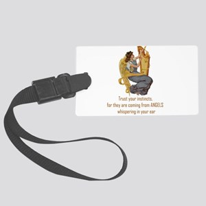 Angels Whispering Luggage Tag