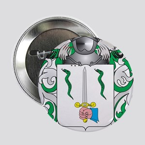 """Ode Coat of Arms (Family Crest) 2.25"""" Button"""