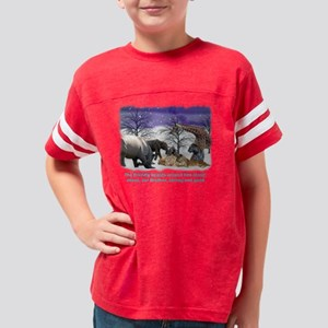 friendly beasts Youth Football Shirt