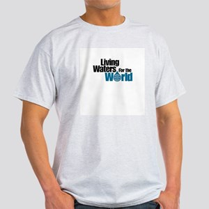 Living Waters for the World Ash Grey T-Shirt
