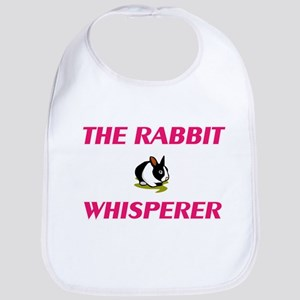 The Rabbit Whisperer Baby Bib