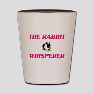 The Rabbit Whisperer Shot Glass