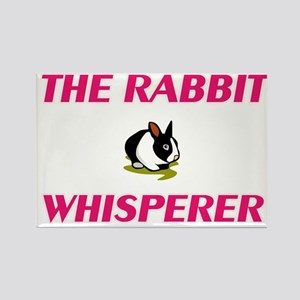 The Rabbit Whisperer Magnets