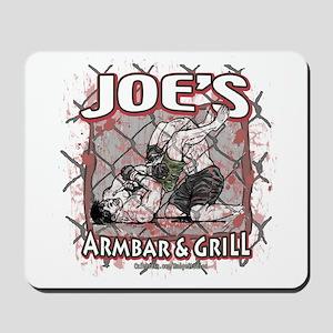 Joe's Armbar & Grill MMA Mousepad